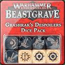 Warhammer Underworlds. Beastgrave: Grashrak's Despoilers Dice Pack