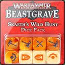 Warhammer Underworlds. Beastgrave: Skaeth's Wild Hunt Dice Pack