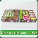 Органайзер для настольной игры Dinosaur Island + Expansions