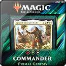 Magic: The Gathering. Commander 2019: Primal Genesis