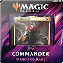 Magic: The Gathering. Commander 2019: Merciless Rage
