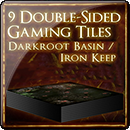 Dark Souls: Dark root Basin and Iron Keep Tile Set