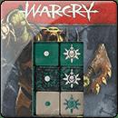 Warhammer Age of Sigmar: Warcry: Harbingers of Destruction Dice Set
