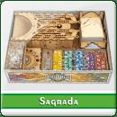 Органайзер для настольной игры Саграда + дополнение