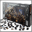 Warhammer 40000. Guilliman vs Black Legion 1000pcs Puzzle