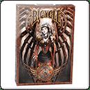 Покерные карты Bicycle Steampunk от Энн Стоукс