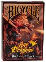 Покерные карты Bicycle Age of Dragons от Энн Стоукс