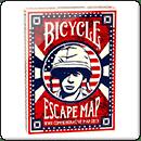 Покерні карти Bicycle Escape Map