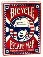 Покерные карты Bicycle Escape Map