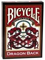 Покерные карты Bicycle Dragon Back (Красные)