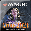 Magic: The Gathering. Core Set 2021. Booster