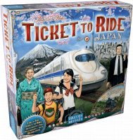 Ticket to Ride Map Collection: Japan & Italy