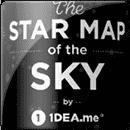 Карта звездного неба Star map of the sky
