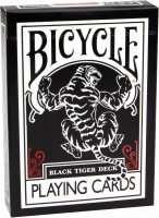 Покерні карти Bicycle Black Tiger Deck