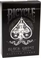 Покерные карты Bicycle Black Ghost (2 edition)