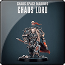 Warhammer 40000. Chaos Space Marines Chaos Lord