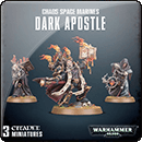Warhammer 40000. Chaos Space Marines Dark Apostle