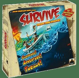Настольная Игра Survive: Escape from Atlantis! (Выжить! Побег с Атлантиды!)
