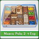 Органайзер для настольной игры Marco Polo II + Expansions