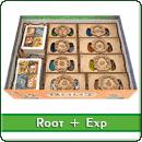 Органайзер для настольной игры Root + дополнения