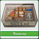 Органайзер для настольной игры Barrage + дополнения