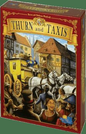 Настольная Игра Thurn and Taxis (Турн и Таксис: Королевская Почта)