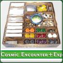 Органайзер для настільної гри Cosmic Encounter + доповнення