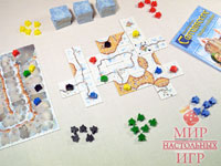 Настольная игра - Carcassonne Winter edition (Каркассон Зимняя версия)