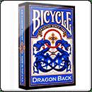 Покерні карти Bicycle Dragon Back (Сині)