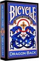 Покерные карты Bicycle Dragon Back (Синие)