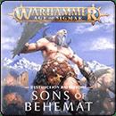 Warhammer Age of Sigmar. Battletome: Sons of Behemat (Hardback)