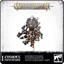 Warhammer Age of Sigmar. Kharadron Overlords: Endrinmaster with Dirigible Suit