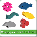 Токены корма для игры Крылья (Wingspan): Полный комплект (с дополнением)