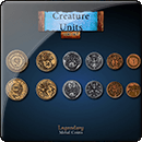Creature Units Coin Set