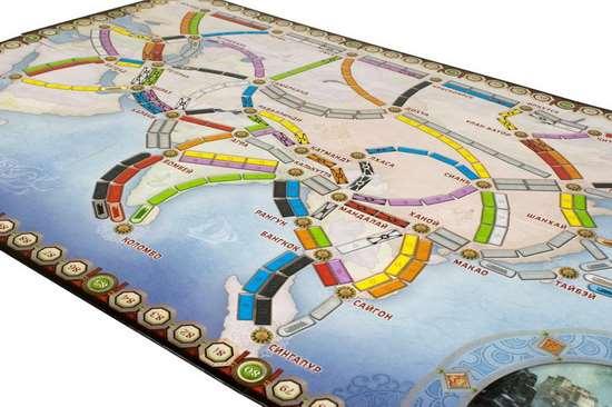 Настільна гра Квиток на Потяг: Азія