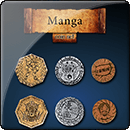 Manga Coin Set