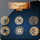 Wizard Coin Set
