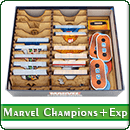 Органайзер для настольной игры Marvel Champions + дополнения