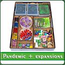 Органайзер для настольной игры Пандемия + дополнения