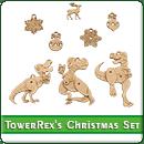 Новогодние Украшения TowerRex's Christmas Set