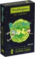 Карты игральные Waddingtons Number 1 – Rick and Morty