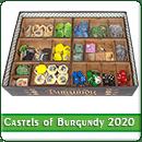 Органайзер для настільної гри Castles of Burgundy 20th Anniversary Edition + доповнення