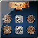 Sci Fi Coin Set