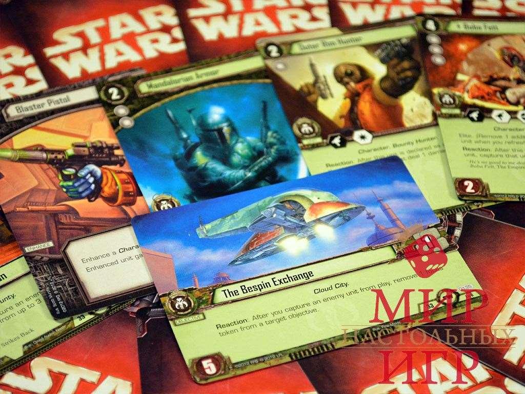 карточная игра звездные войны