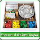 Органайзер для настольной игры Viscounts of the West Kingdom