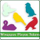 Токены игроков для игры «Крылья»