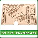 Игронайзер Планшеты игроков для игры Arkham Horror 3rd Edition