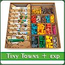 Органайзер для настольной игры Tiny Towns + дополнения