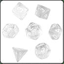 Набір кубиків: Прозорі С10