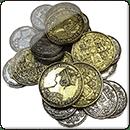 Металлические Монеты для игры Nanty Narking